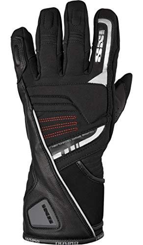 IXS Motorradhandschuhe lang Motorrad Handschuh X-Handschuh Buran schwarz 3XL, Herren, Tourer, Winter, Leder/Textil