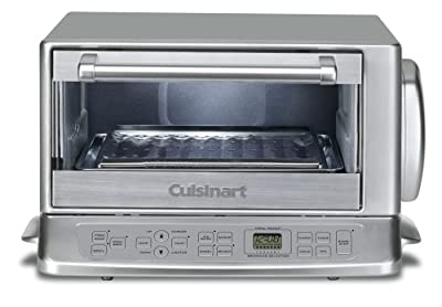 Cuisinart TOB-195 Exact Heat Toaster Oven Broiler, Stainless, Silver