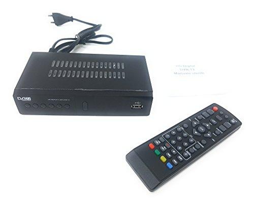 tempo di saldi Decoder Ricevitore Digitale Terrestre HD Dvb t3 USB con Presa Scart Televisione