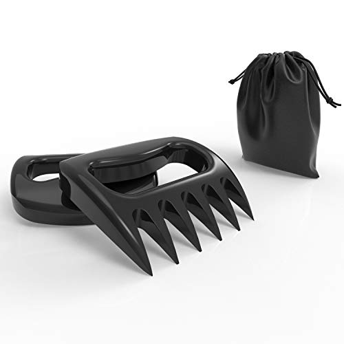 Claws for Shredding Meat, Handling or Mixing Food, Sharp Blades, Bear Claw Meat Shredder, BBQ Grill or Smoked Meat