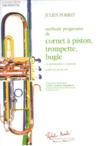 Méthode progressive de cornet à piston, trompette, bugle