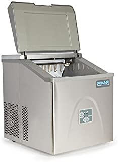 Polar Counter Top Ice Maker 17kg Output 415X365X420mm Roestvrij staal Machine