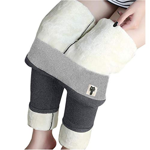 757 Leggings Termici da Donna Pantaloni da Jogging Foderati in Pile Pantaloni Invernali Slim-Fit più Caldi Imbottiti in Velluto Pantaloni Sportivi con Leggings di Alta qualità a Vita Alta