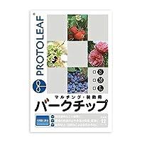プロトリーフ 園芸用品 バークチップL 12L×8袋【同梱・代引不可】