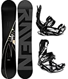 RAVEN Snowboard Set: Snowboard Element Carbon 2020 + Bindung Fastec FT270 (153cm + FT270 Black L)
