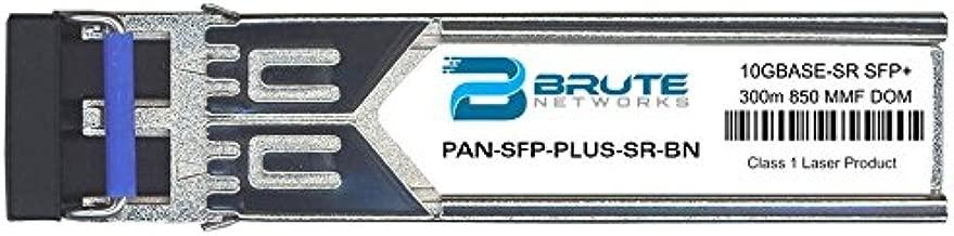Brute Networks PAN-SFP-Plus-SR-BN - 10GBASE-SR 300m MMF 850nm SFP+ Transceiver (Compatible with OEM PN# PAN-SFP-Plus-SR)