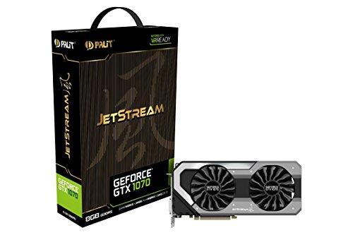 Palit NE51070015P2J GeForce GTX 1070 Jetstream Grafikkarte
