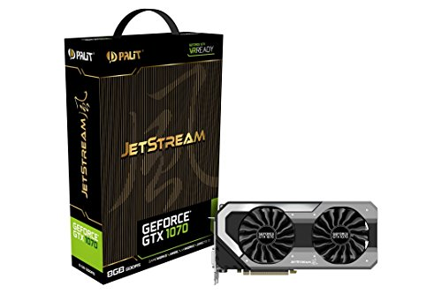 Palit NE51070015P2J GeForce GTX 1070 Jetstream Grafikkarte
