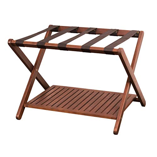 Amazing Deal Merry Products Luggage Rack (Renewed)