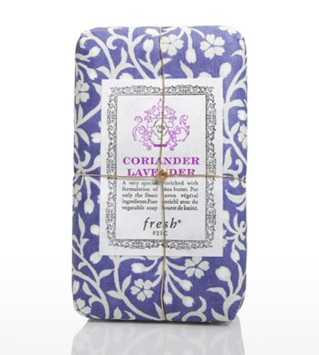 カビ決めます可動式Fresh CORIANDER LAVENDAR SOAP(フレッシュ コリアンダーラベンダー ソープ) 5.0 oz (150gl) 石鹸 by Fresh