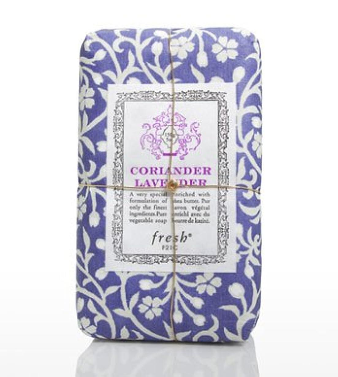 ヘッドレス委託切手Fresh CORIANDER LAVENDAR SOAP(フレッシュ コリアンダーラベンダー ソープ) 5.0 oz (150gl) 石鹸 by Fresh