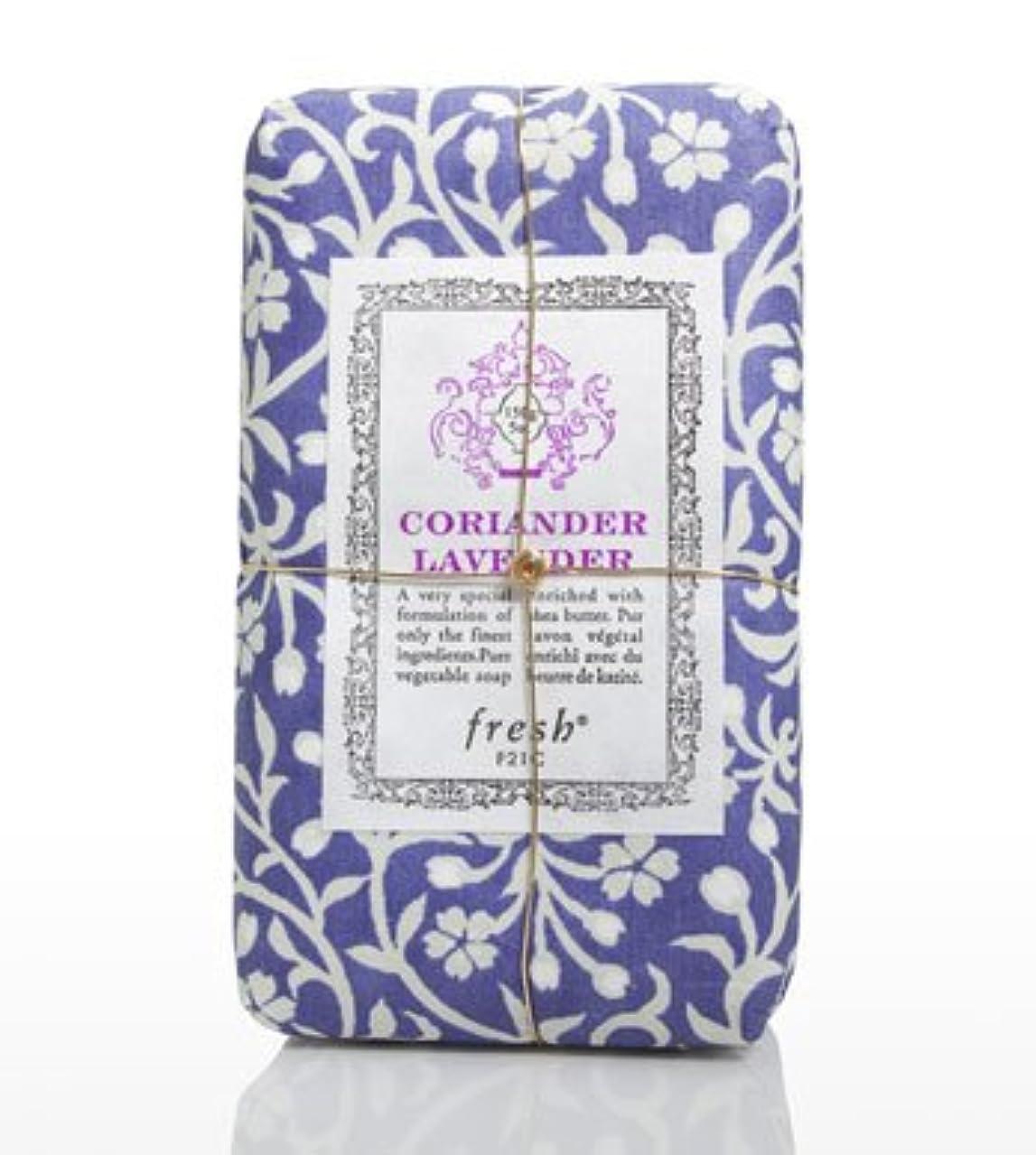 傑出した従事するマイナスFresh CORIANDER LAVENDAR SOAP(フレッシュ コリアンダーラベンダー ソープ) 5.0 oz (150gl) 石鹸 by Fresh