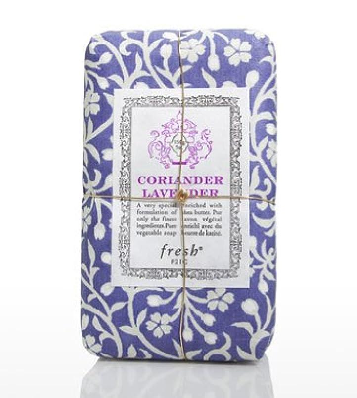 高齢者春寛解Fresh CORIANDER LAVENDAR SOAP(フレッシュ コリアンダーラベンダー ソープ) 5.0 oz (150gl) 石鹸 by Fresh