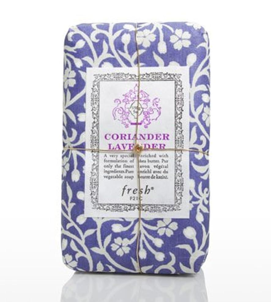 コントロール密接にドロップFresh CORIANDER LAVENDAR SOAP(フレッシュ コリアンダーラベンダー ソープ) 5.0 oz (150gl) 石鹸 by Fresh