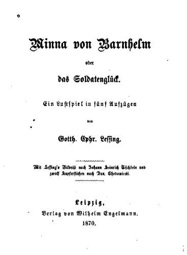 Minna von Barnhelm, Oder, Das Soldatenglück