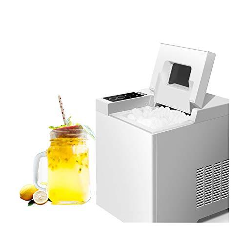 Eiswürfelmaschine 15 kg Eiswürfel pro Tag Produktionszeit 10-13 min 2 Eiswürfelgrößen Wasserstandsanzeige