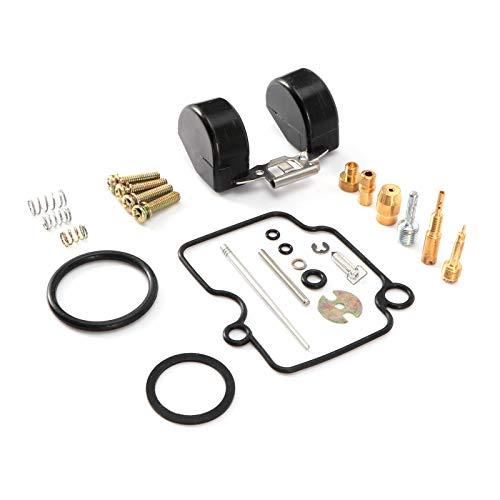 Nicoone Kit de Reparación de Carburador de Acero con Ajuste de Tornillo para Carburador Mikuni Carburador VM22 Carburador Pieza de Reparación