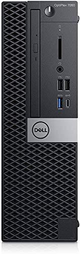 DELL OptiPlex 7060 Desktop SFF PC, Intel Core Intel Core i7-8700T 8GB RAM DDR4, 256GB SSD SATA M.2 SAMSUNG Windows 10 Pro MAR (Ricondizionato)