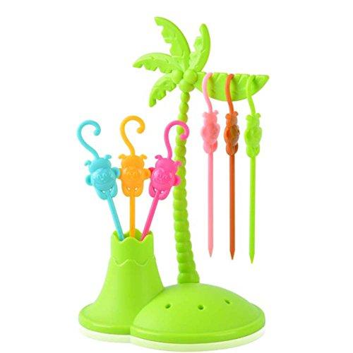Prettysell Tree Shape Fruit Forks Fruit Picks Kitchen Accessories Toothpick