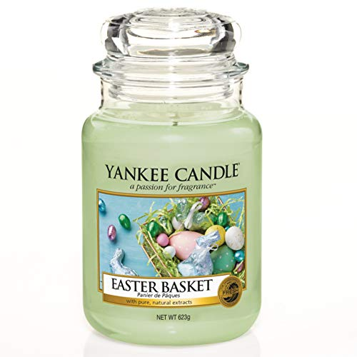 Yankee Candle Candela Profumata, Verde (Cesto di Pasqua), Candele in Giara Grande