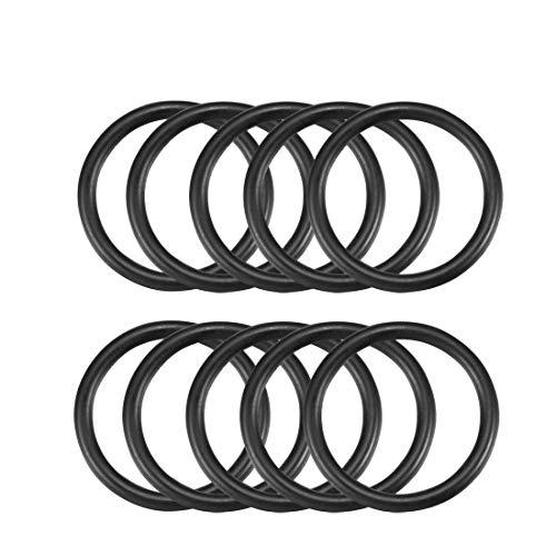 10Stück 24mm x 2,5mm Mechanische Gummi O Ring Oil Abdichtung Dichtungen de