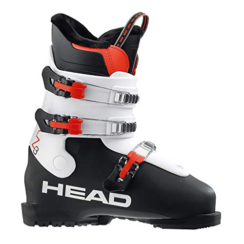 HEAD Kinder Z 3 Skischuhe, Black/White, 255