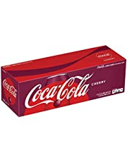 Coca Cola Refresco con Gas, Sabor Cereza - Paquete de 12 x 355 ml - Total: 4260 ml