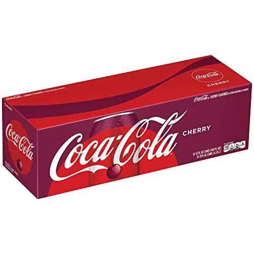 Coca Cola Refresco con Gas, Sabor Cereza - Paquete de 12 x 355 ml - Total: 4260 ml