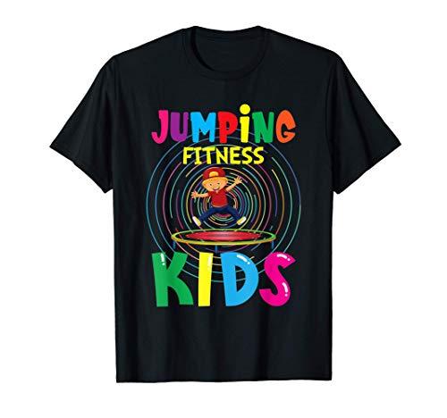 Jumping Fitness Kinder Trampolin Kids Sport T-Shirt