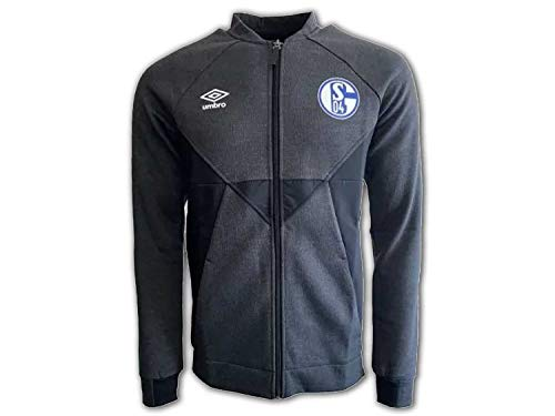 UMBRO FC Schalke 04 Präsentationsjacke Herren anthrazit/schwarz, L