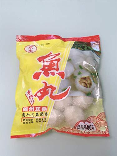 正宗福州魚丸 鮮魚肉だんご・魚団子 ???丸 猪肉? 冷凍食品 クール便 400g×4点