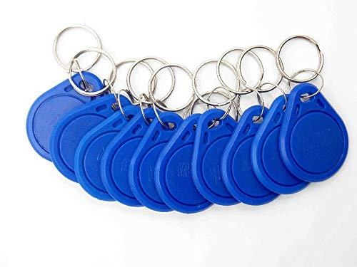 10 Unids/lote Nueva Proximidad ID Token Tag Key Fob 125Khz RFID Plástico...
