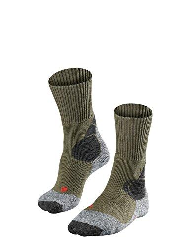 FALKE TK4 M So Chaussettes de randonnée Homme, Vert (Olive 7830), 44-45