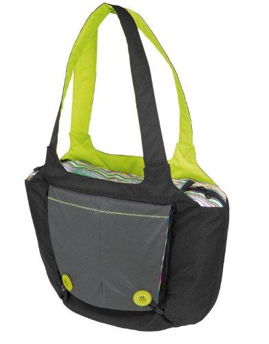Hoppop 32130064 - Boosti'Bag, Wickeltasche und Sitzerhöher in einem, rainbow