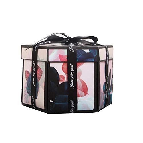 Ritapreaty Explosion Box, creatieve doe-het-zelf handgemaakte verrassing explosie geschenkdoos liefdesherinnering, album geschenkdoos voor huwelijk voorstellen verjaardag maken verrassingen