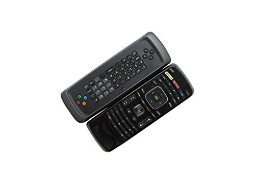 HCDZ Replacement Remote Control with Amazon Netflix Vudu Buttons Keyboard for Vizio M551DA2 E241i-A1 M501D-A2R P42HDM P46 0980-0304-9150 Plasma LCD LED HDTV TV