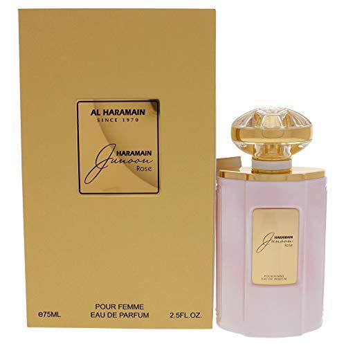 Al Haramain Junoon Rose by Al Haramain Eau De Parfum, Spray 2.5 oz / 75 ml (Women)