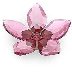 Idea Regalo - Swarovski Garden Tales - Magnete con fiori di ciliegio, piccolo, rosa