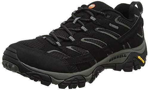 Merrell MOAB 2 GTX, Zapatillas de Senderismo Hombre, Negro (Black), 44 EU