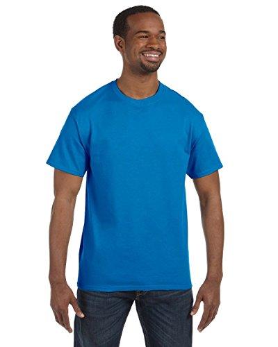 Hanes - Camiseta sin etiquetas, 100 % algodón para hombre, XL