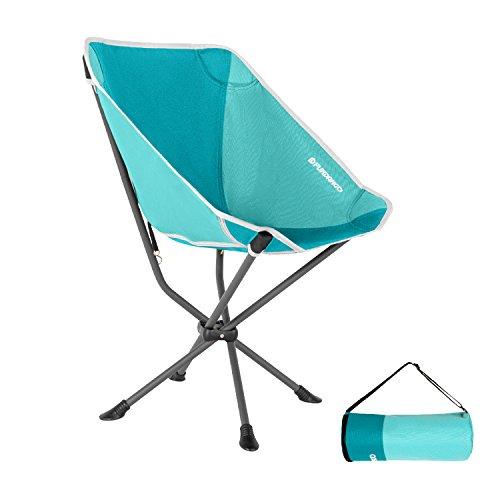FUNDANGO屋外椅子耐久性 あるコンパクトなキャンプチェアスチール安定性抜群 軽量シンプルな収納袋付き椅子折りたたみ釣り登山キャンプチェア耐荷重120キロ折りたたみ