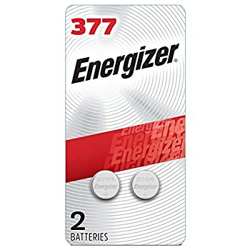 Energizer Silver Oxide 377 Batteries  2 Battery Count  - Packaging May Vary