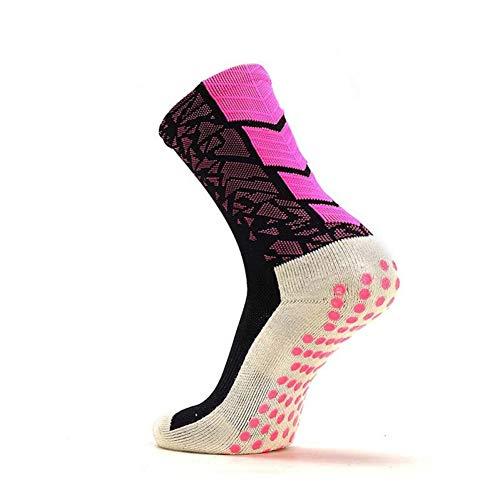 WLQXDD Socke Unisex Sportsocke rutschfeste, verdickte, elastische, atmungsaktive Socken