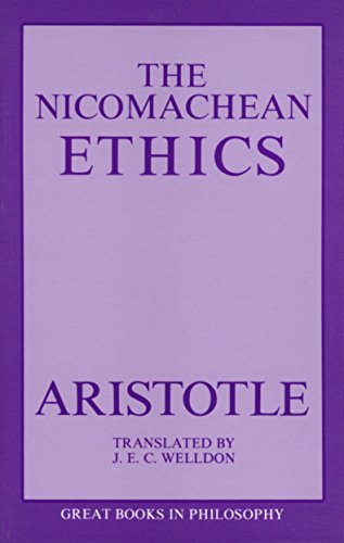 The Nicomachean Ethics (Great Books in Philosophy)