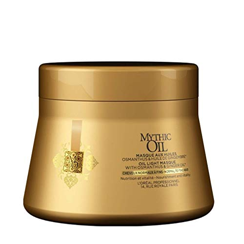 L'Óreal Mythic Oil Mascarilla Cabello Normal o Fino - 200 ml