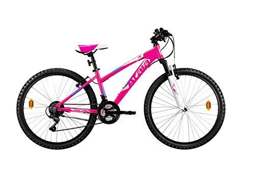 Bici Bicicletta Lady ATALA Race Comp Donna 18V Ruota 26' Telaio Alluminio MTB Front 2020