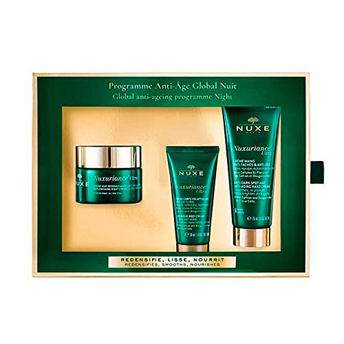 Nuxe Nuxuriance Ultra Programma Globale Anti-Age Set Notte Redensifie, Lisse, Nourrit