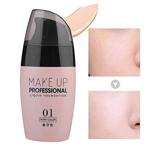 BB Cream Makeup Flüssige Grundierung, Concealer Feuchtigkeitsspendende Poren, die das feuchtigkeitsspendende Make up zur Ölkontrolle abdecken(01)