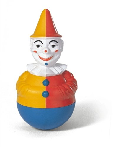 221141 - Rolly Toys - Stehauf - Clown mit Glockensound
