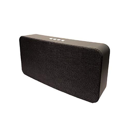 Altavoz portátil de 10W con tecnología Bluetooth BSL-B19(Negro) | Resistente a Polvo y Salpicaduras |Reproductor mp3 | Puerto USB y SD | Toma Auxiliar